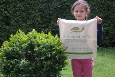Einkaufstasche aus Biobaumwolle