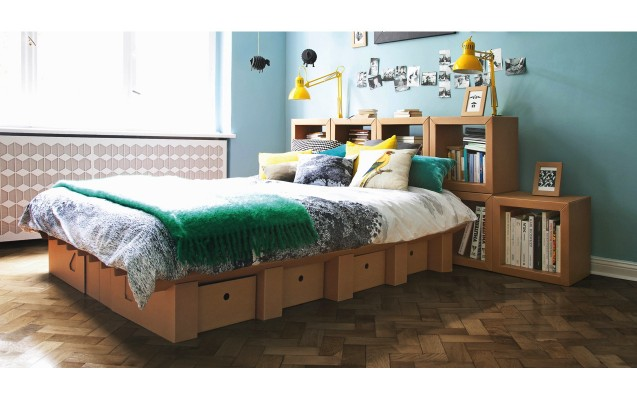 upcycling tipp m bel aus pappe sleep green hotels. Black Bedroom Furniture Sets. Home Design Ideas